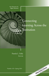 Connecting Learning Across the Institution: New Directions for Higher Education, Number 165 (1118883462) cover image