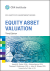 Equity Asset Valuation, 3rd Edition (1119104262) cover image