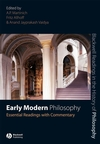 Early Modern Philosophy: Essential Readings with Commentary (1405135662) cover image