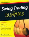 Swing Trading For Dummies (0470425563) cover image