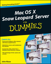 Mac OS X Snow Leopard Server For Dummies (0470450363) cover image
