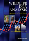 Wildlife DNA Analysis: Applications in Forensic Science (0470665963) cover image