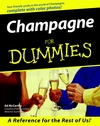 Champagne For Dummies (0764552163) cover image