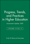 Assessment Update, Progress, Trends, and Practices in Higher Education, Volume 13, No. 4, 2001  (0787958263) cover image