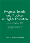 Assessment Update: Progress, Trends, and Practices in Higher Education, Volume 15, Number 1, 2003 (0787968463) cover image