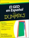 El GED en Espanol Para Dummies (1118003063) cover image