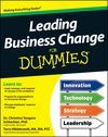 Leading Business Change For Dummies (1118282663) cover image