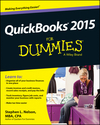 QuickBooks 2015 For Dummies (1118920163) cover image