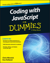 Coding with JavaScript For Dummies (1119056063) cover image