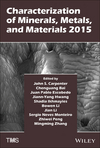 Characterization of Minerals, Metals, and Materials 2015 (1119082463) cover image