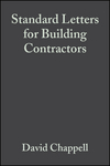 Standard Letters for Building Contractors, 3rd Edition (1405147563) cover image