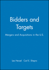 Bidders and Targets: Mergers and Acquisitions in the U.S. (1557860963) cover image