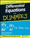 Differential Equations For Dummies (0470395664) cover image