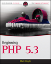 Beginning PHP 5.3 (0470413964) cover image