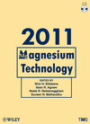 Magnesium Technology 2011 (1118029364) cover image