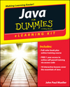 Java eLearning Kit For Dummies (1118237064) cover image