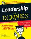 Leadership For Dummies, Australian and New Zealand Edition (1118348664) cover image