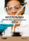 thumbnail image: NIST / EPA / NIH MS / MS Mass Spectral Library 2014