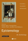 Epistemology: An Anthology, 2nd Edition (1405169664) cover image
