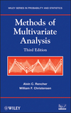 thumbnail image: Methods of Multivariate Analysis, 3rd Edition