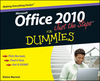 Office 2010 Just the Steps For Dummies (0470622865) cover image