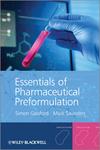 Essentials of Pharmaceutical Preformulation (0470976365) cover image