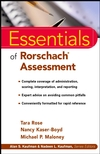 Essentials of Rorschach Assessment (0471331465) cover image