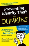 Preventing Identity Theft For Dummies (0764573365) cover image