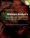 Malware Analyst's Cookbook and DVD: Tools and Techniques for Fighting Malicious Code (1118003365) cover image