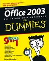 Office 2003 All-in-One Desk Reference For Dummies (1118053265) cover image