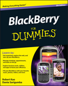 BlackBerry For Dummies, 5th Edition (1118153065) cover image
