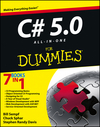 C# 5.0 All-in-One For Dummies (1118385365) cover image