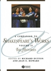 A Companion to Shakespeare's Works, Volume II: The Histories (1405136065) cover image