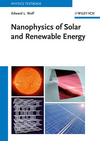 Nanophysics of Solar and Renewable Energy (3527410465) cover image