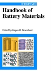 Handbook of Battery Materials (3527611665) cover image