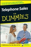 Telephone Sales For Dummies (0470168366) cover image