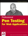 Professional Pen Testing for Web Applications  (0471789666) cover image