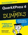 QuarkXPress 6 For Dummies (0764549766) cover image