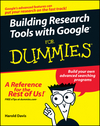 Building Research Tools with Google For Dummies (0764597566) cover image