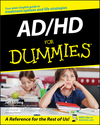 AD / HD For Dummies (1118068866) cover image