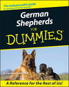 German Shepherds For Dummies (1118069366) cover image