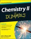 Chemistry II For Dummies (1118239466) cover image