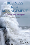 thumbnail image: Business Risk Management: Models and Analysis