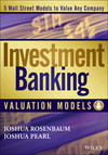 Investment Banking Valuation Models (1118586166) cover image