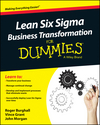 Lean Six Sigma Business Transformation For Dummies (1118844866) cover image