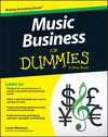 Music Business For Dummies (1119049466) cover image