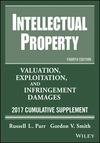 Intellectual Property: Valuation, Exploitation, and Infringement Damages, 2017 Cumulative Supplement, 4th Edition (1119339766) cover image