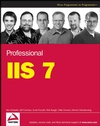 Professional IIS 7 (0470289767) cover image