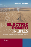Electric Power Principles: Sources, Conversion, Distribution and Use (0470686367) cover image