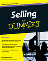 Selling For Dummies, 3rd Edition (0470930667) cover image